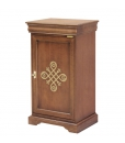 Credenzina stretta classica in legno adatta a qualsiasi stanza