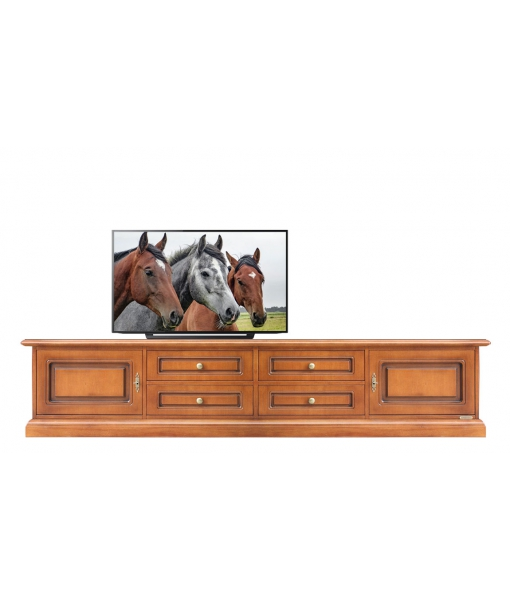 Mobile base per parete tv per soggiorno, Art. BA-01