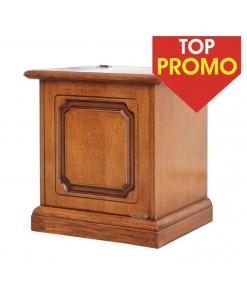 Cassapanca piccola a ribalta 50 cm, cassapanca, piccolo baule in legno, cassapanca piccola, cassapanca classica in legno