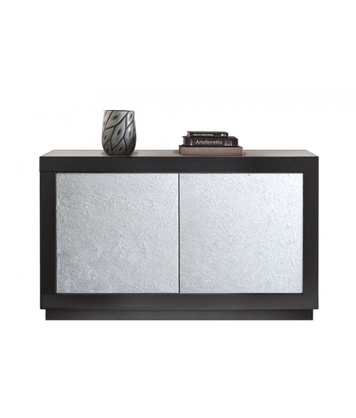 Madia silver due ante in stile contemporaneo, Art. F-07-S
