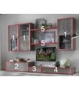Composizione mobili per parete soggiorno