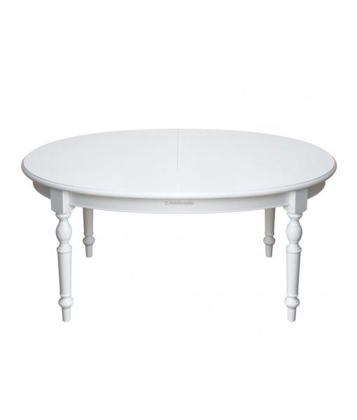 Tavolo da pranzo ovale allungabile, Arteferretto