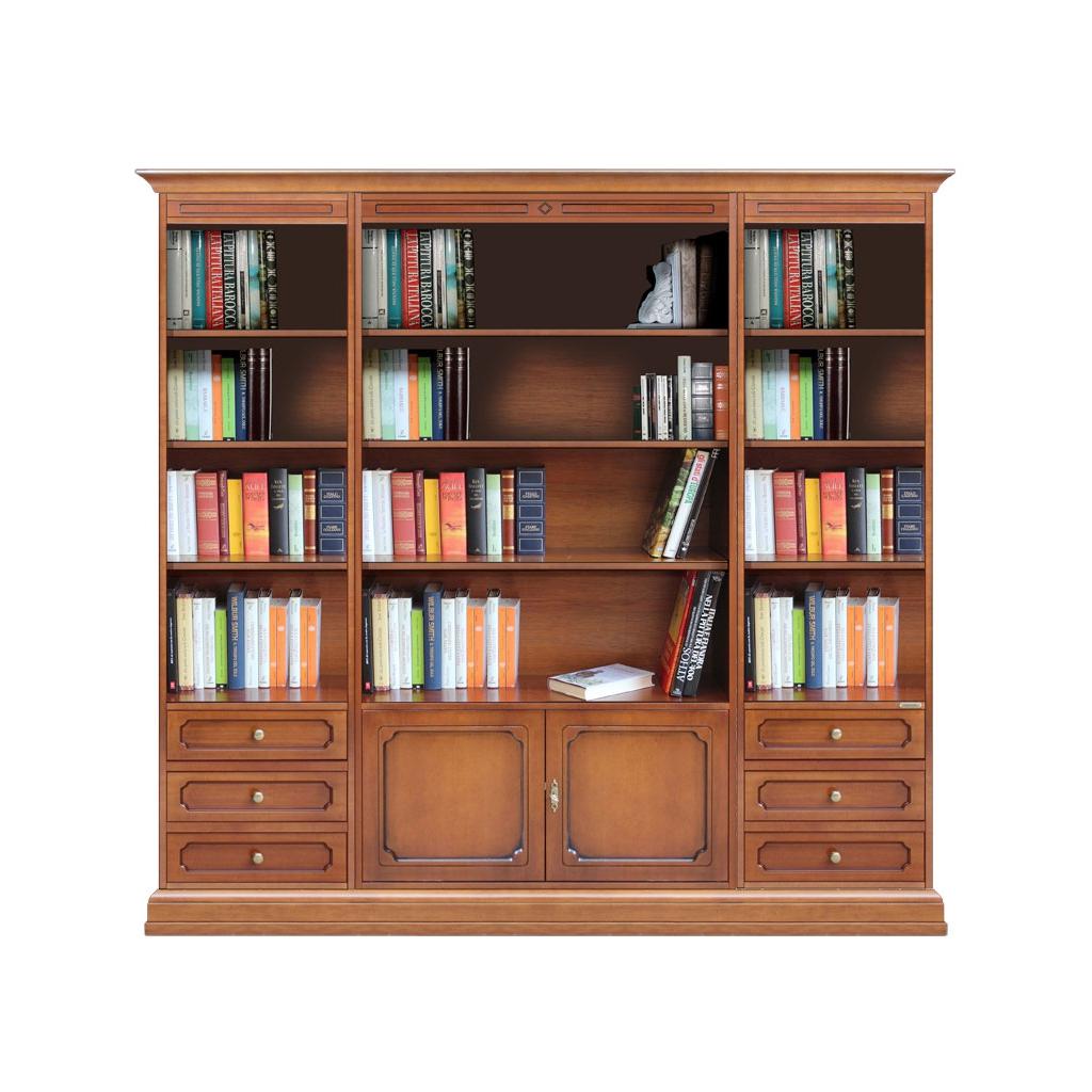 Libreria da parete per soggiorno