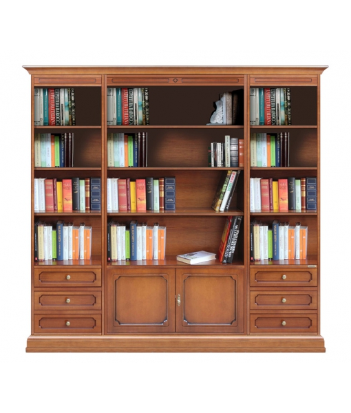 Libreria da parete per soggiorno - ArteFerretto