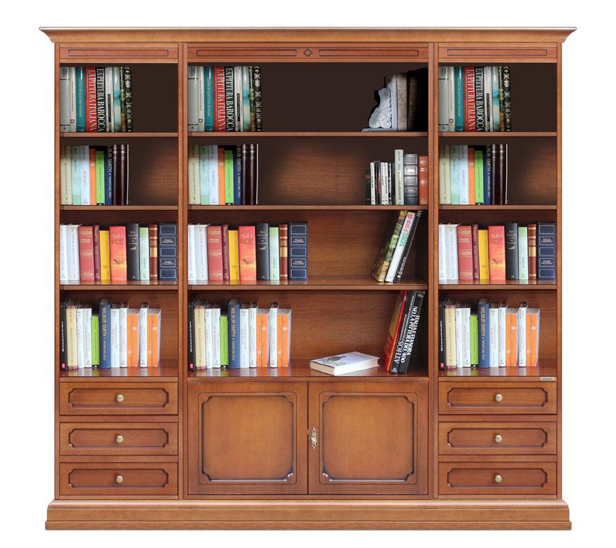 Libreria Da Soggiorno : Libreria da parete per soggiorno arteferretto