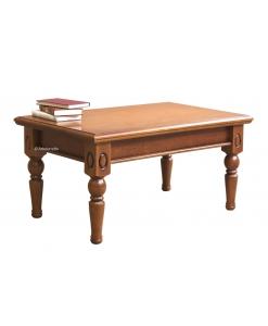 Tavolino rettangolare da salotto in legno