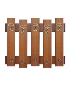 Pannello appendiabiti 1 metro a 5 elementi , perfetto per l'ingresso.