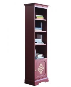Libreria rubino in legno laccato