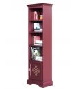 Libreria in legno 3 ripiani 1 anta