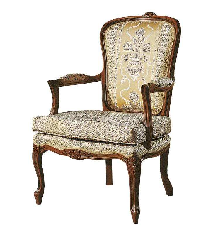 Poltrona Stile Luigi XV con cuscino - ArteFerretto