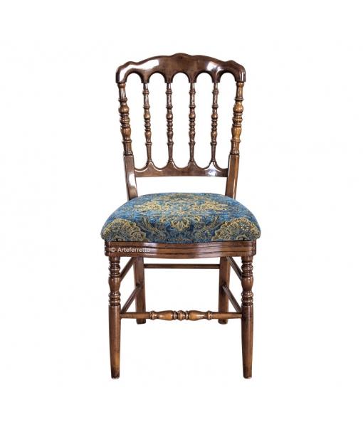 Sedia per tutti i giorni schienale in legno