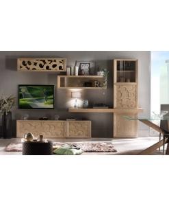Composizione soggiorno moderna