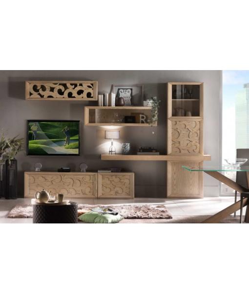 Composizione soggiorno moderna, Art. DUBA-01