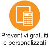 Preventivi senza impegno e personalizzati