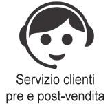 assistenza clienti pre e post vendita a tua disposizione