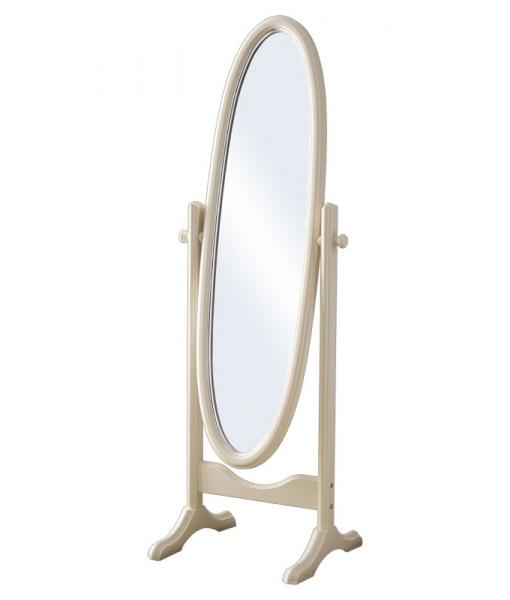 Specchiera ovale girevole in legno, Art. DB-162