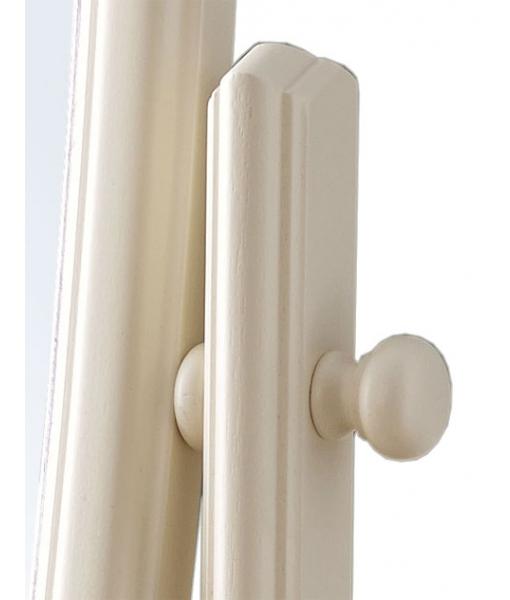 Specchiera girevole cornice in legno, Art. DB-162