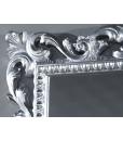 Specchiera cornice legno foglia oro o foglia argento
