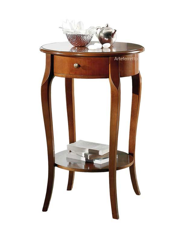 Tavolino porta lampada con cassettino arteferretto - Tavolino porta microonde ...