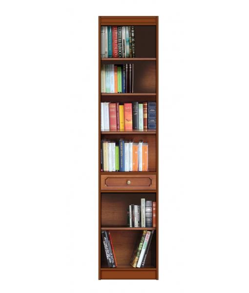 Libreria salvaspazio ripiani regolabili, Art. EC-5001
