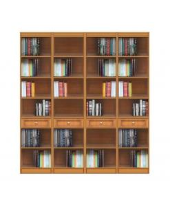 Composizione modulare da parete in legno