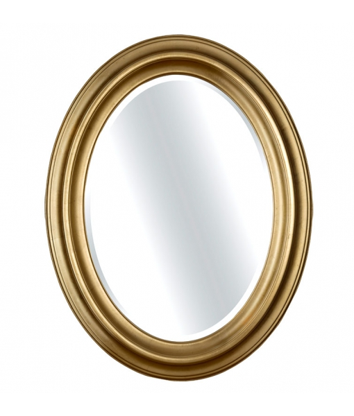 Specchiera ovale in legno verticale, Art. DB-746