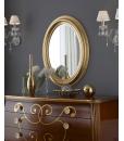 Specchiera foglia oro per zona giorno o zona notte