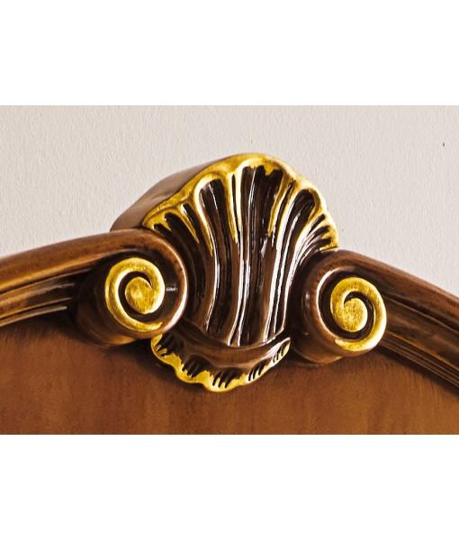 Argentiera stile classico dettagli oro