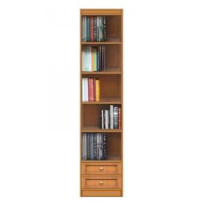 Modulo libreria con 2 cassetti e 5 van