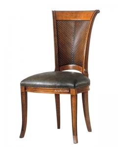 Sedia schienale legno, sedia in legno, sedia classica