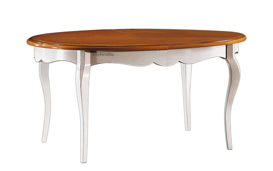Tavolo ovale allungabile - ArteFerretto