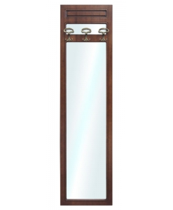 Pannello appendiabiti con specchio, Pannello appendiabiti