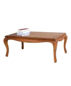 Tavolino rettangolare basso da salotto