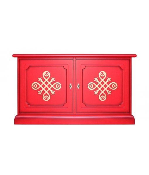 Credenzina bassa - mobile tv RED-YOU art. 3830-RED-YOU