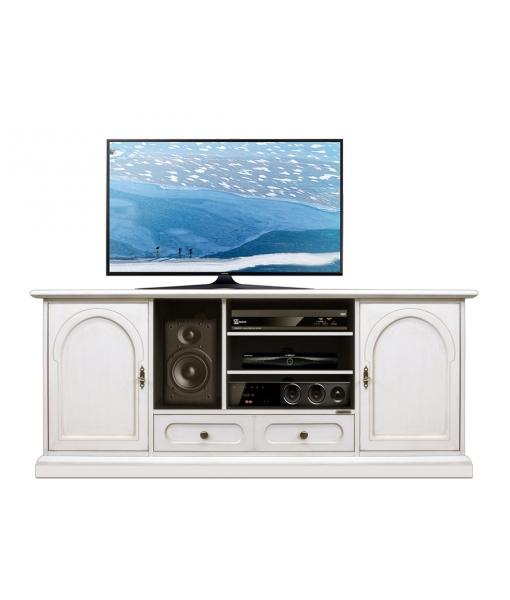 Mobile porta TV bianco da salotto, Art. 4070-T