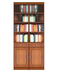 Libreria modulare, libreria in legno