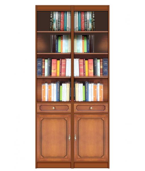 Libreria modulare in stile art. EC-COM-02