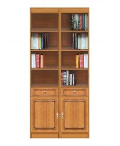 Libreria modulare in stile