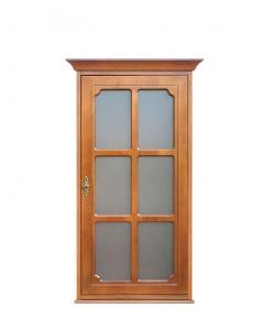 Vetrina pensile con un'anta a vetro, Arteferretto