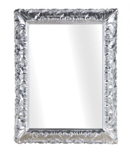 Specchiera argento intagliata classica, Art. DB-738