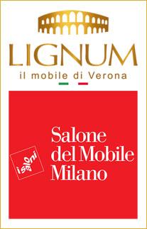Il consorzio Lignum al Salonde del mobile di Milano