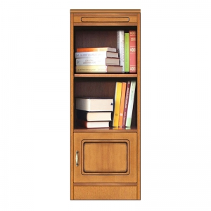 Mobile modulare componibile, libreria con anta, Arteferretto