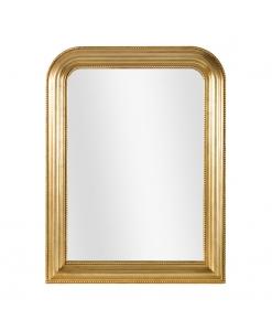 Specchiera classica foglia oro, Arteferretto