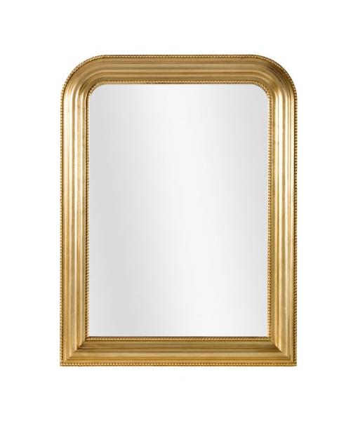 Specchiera classica foglia oro, Art. DB-774