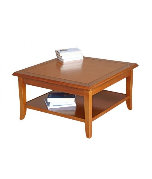 Tavolino quadrato da salotto basso, tavolino da tè / caffè, Art. FM-01L