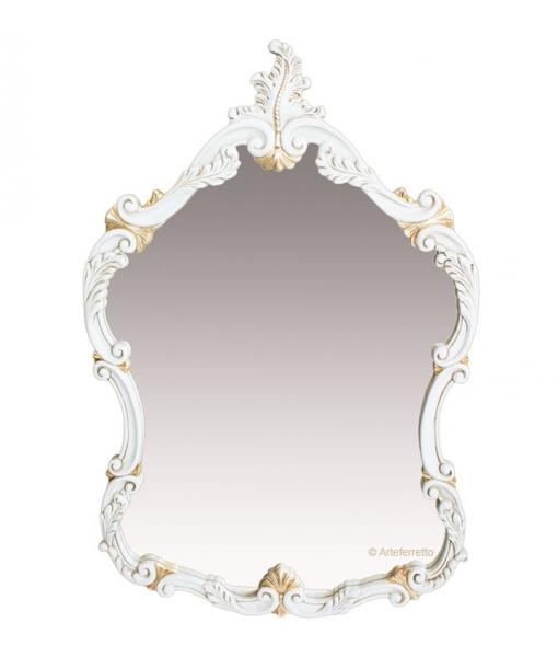 Specchiera di lusso con decori oro, Art. 040-SP