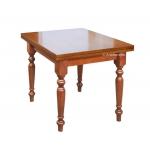 Tavolo rettangolare con allunghe 100 x 70 cm, Arteferretto