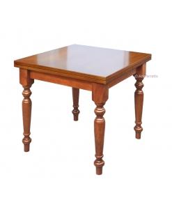 Tavolo quadrato allungabile da pranzo, Arteferretto