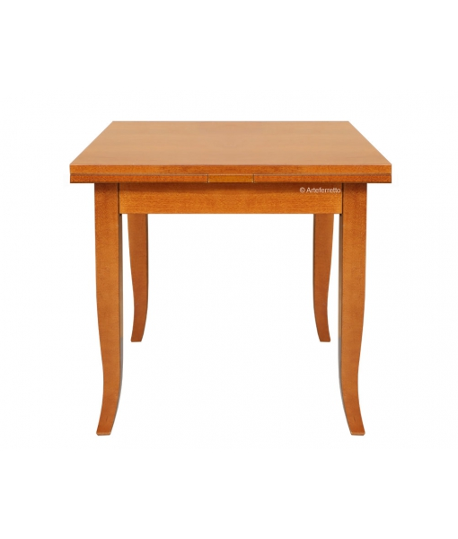 Tavolo da pranzo quadrato allungabile, Art. 20280-TIR