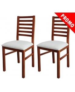 Coppia di sedie per la sala da pranzo